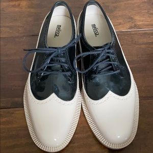 Melissa Rubber Oxford Shoes